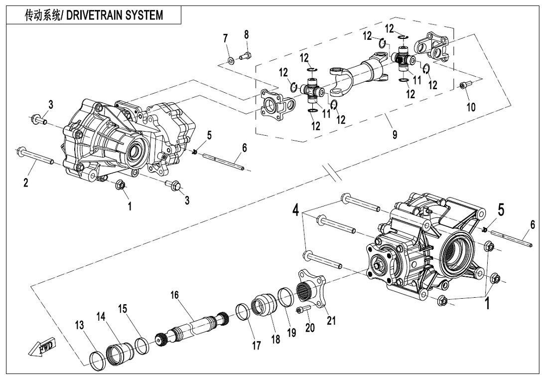 DRIVETRAIN SYSTEM