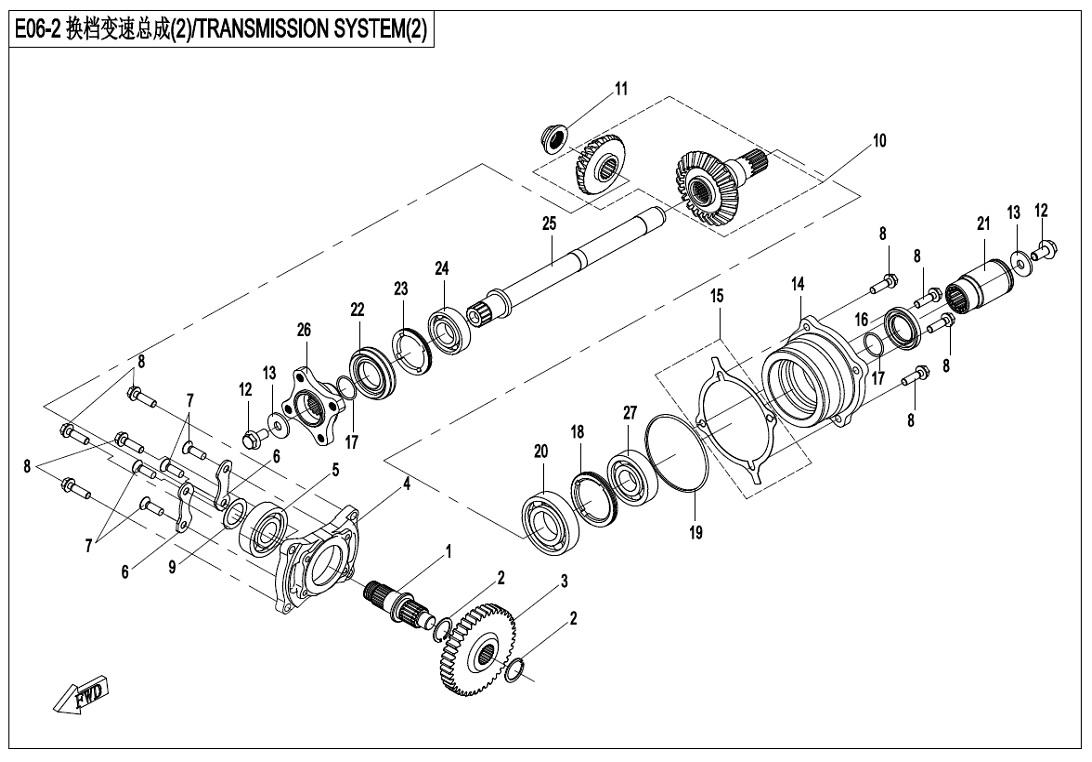TRANSMISSION SYSTEM(2)