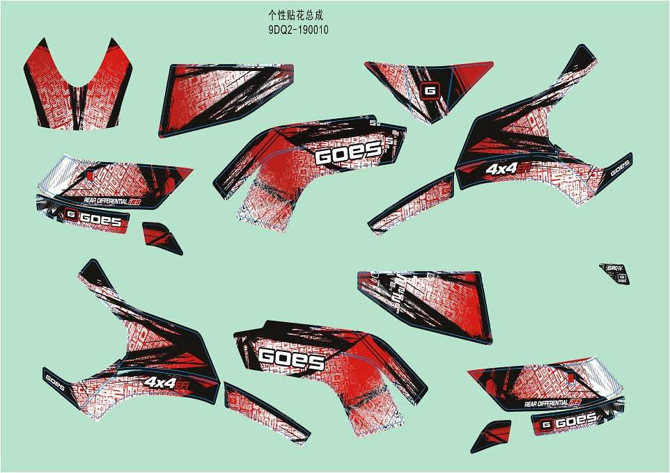 DECAL KITS(RED)